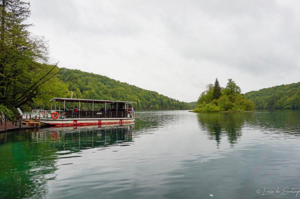 Barca Plitvice - Road trip por Croacia