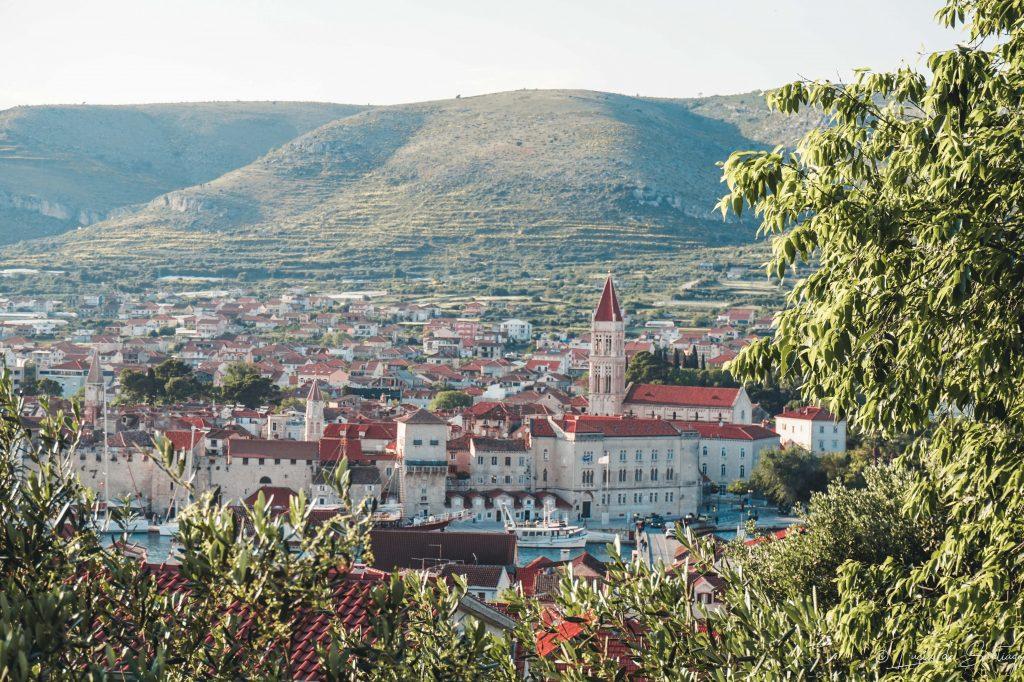 Vista de Trogir - Road trip Croacia