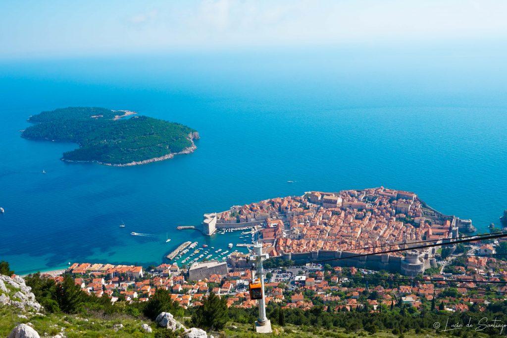 Vista de Dubrovnik - Road trip Croacia