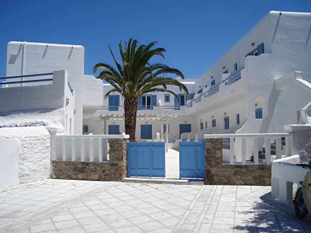 Dónde alojarse en Mykonos, el Magas Hotel.