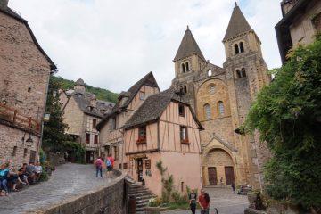 Conques - Road trip Francia