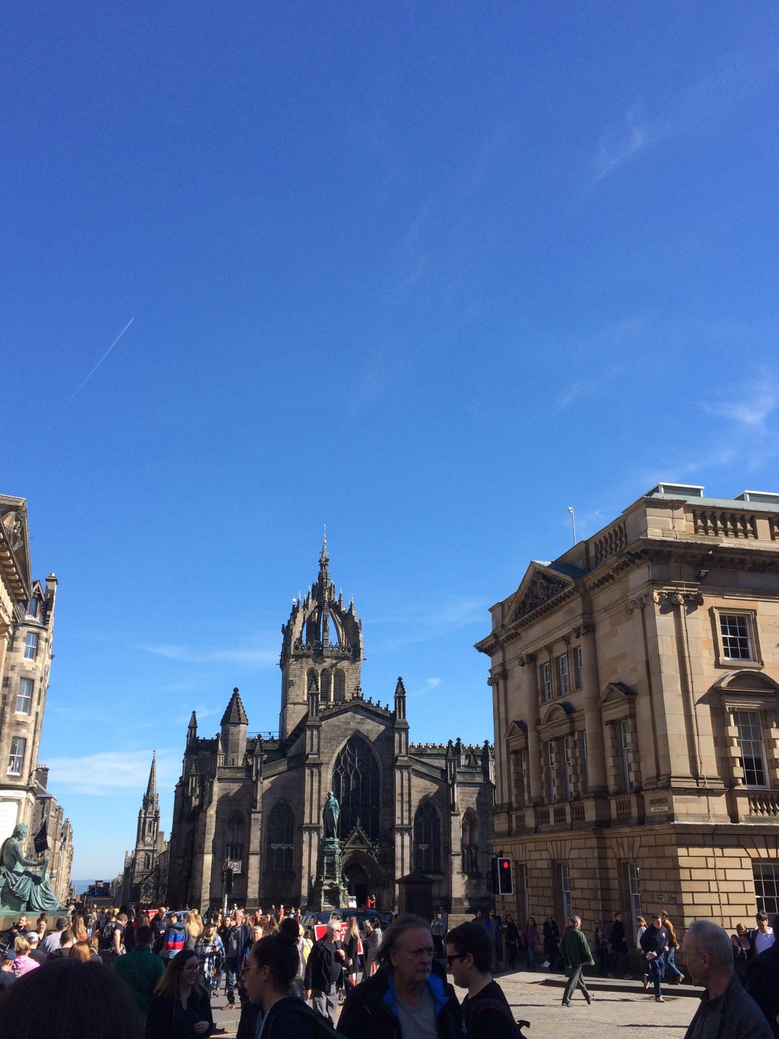 La Catedral de St Giles es un imprescindible que ver en Edimburgo.