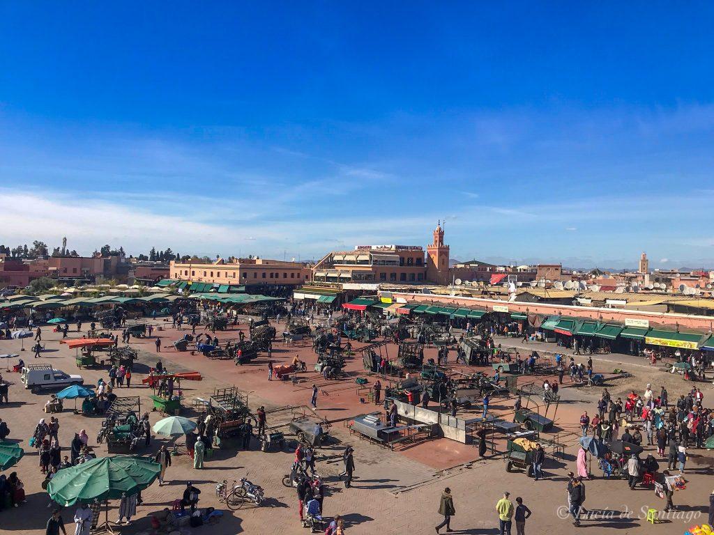 La Plaza de Jamaa el Fna