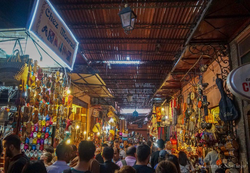 El zoco de Marrakech, uno delos imprescindibles que ver en 1 día