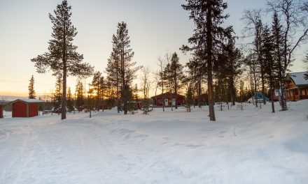 Camp Alta, alójate en una cabaña en Kiruna