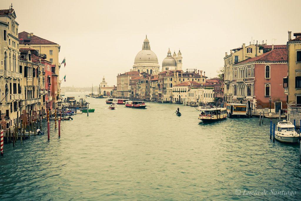 Venecia desde el puente de la Academia