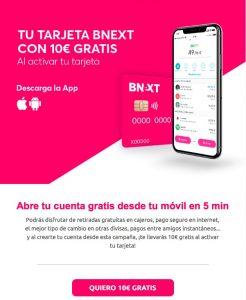 Tarjeta sin comisiones para viajar al extranjeros - Bnext
