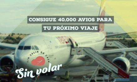 Cómo conseguir más de 40.000 avios sin necesidad de volar